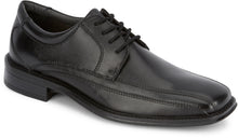 Load image into Gallery viewer, Dockers Footwear Men's Endow Dress Oxford Shoe in Black Side Angle View