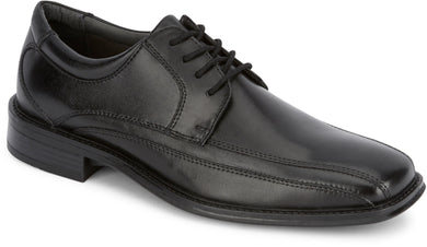 Dockers Footwear Men's Endow Dress Oxford Shoe in Black Side Angle View