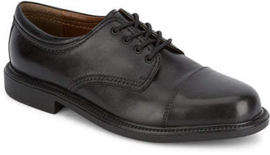 Dockers Footwear Men's Gordon Dress Oxford Shoe in Black Side Angle View