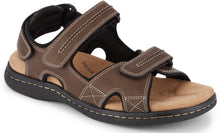 Load image into Gallery viewer, Dockers Footwear Men's Newpage Sporty Outdoor Sandal in Briar Side Angle View