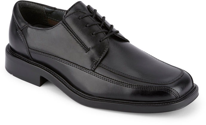 Dockers Footwear Men's Perspective Dress Oxford Shoe in Black Side Angle View