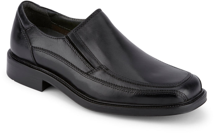 Dockers Footwear Men's Proposal Dress Oxford Shoe in Black Side Angle View