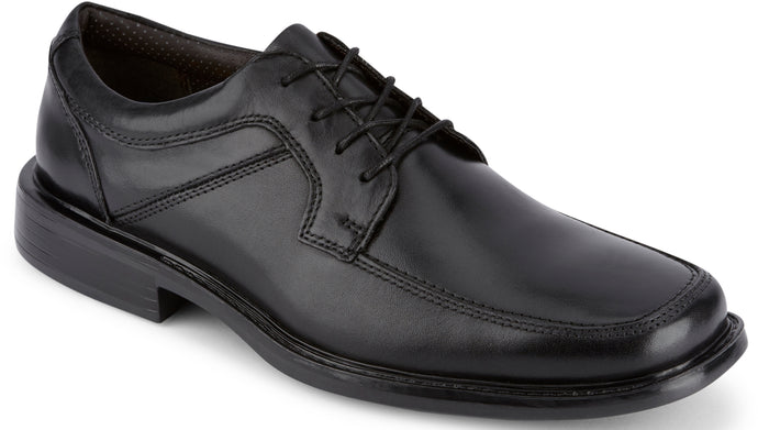 Dockers Men's Union Oxford in BLACKcolor from the side view
