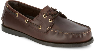 Dockers Footwear Men's Vargas Boat Shoe in Raisin Side Angle View