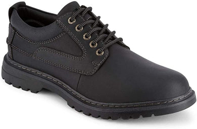 Dockers Footwear Men's Warden Oxford in Black Side Angle View