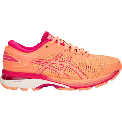 Kid's Asics Gel-Kayano 25 Gs Running Shoe in Mojave/White