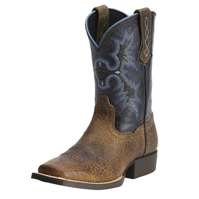 Kids' Ariat Tombstone Western Boot in Earth