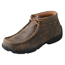 Load image into Gallery viewer, Kids' Twisted X Chukka Driving Moccasins Shoe in Bomber from the side view