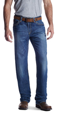 Men's Ariat FR M4 Low Rise Ridgeline Boot Cut Jean in Glacier