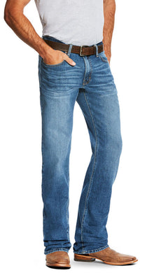 Men's Ariat M2 Relaxed Stretch Legacy Boot Cut Jean in Brandon