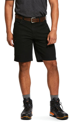 Men's Ariat Rebar Durastretch Made Tough Short in Black