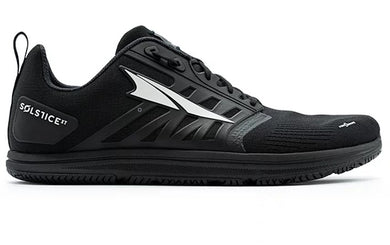 Altra Men's Solstice XT Cross Training Shoe in Black from the side