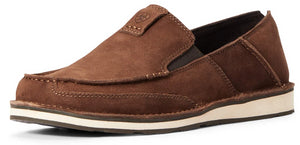Men's Ariat Cruiser Slip-on Shoe in Distressed Brown