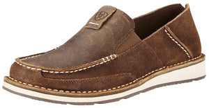 Men's Ariat Cruiser Slip-on Shoe in Rough Oak