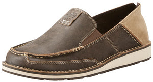 Men's Ariat Cruiser Slip-on Shoe in Vintage Bomber