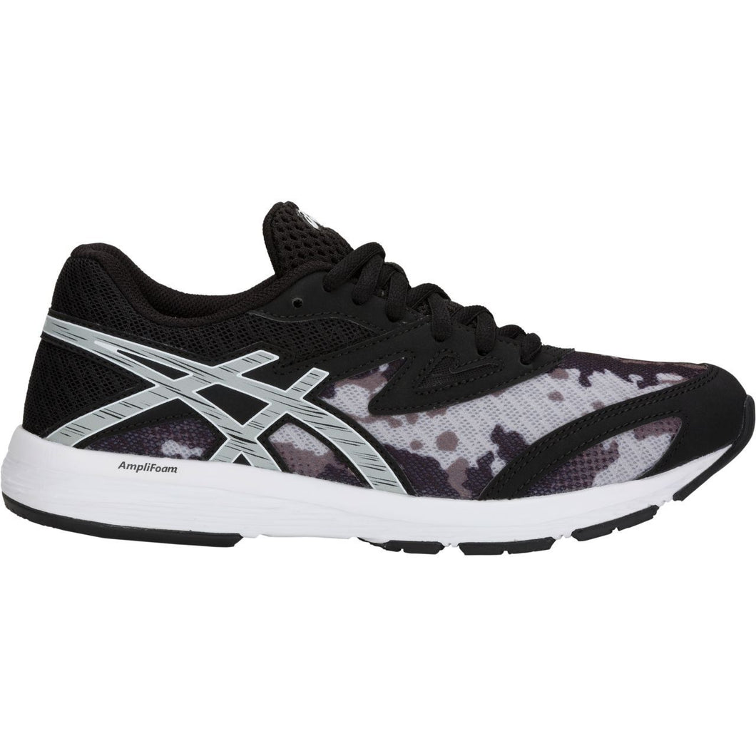Men's Asics Amplica GS Running Shoe in Black/Mid Grey