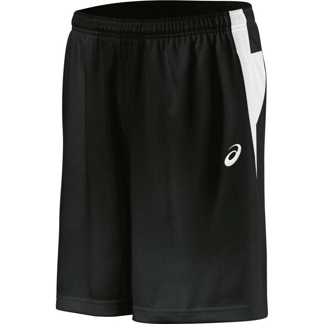 Men's Asics Court Short in Black/White
