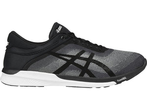 Men's Asics Fuzex Rush Running Shoe in Midgrey/Black/White