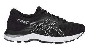 Men's Asics Gel-Flux 5 Running Shoe in Black/Silver/Carbon