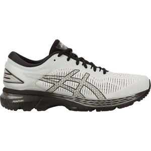 Men's Asics Gel-Kayano 25 Running Shoe in Glacier Grey/Black