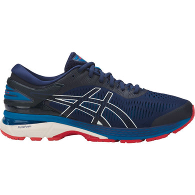 Men's Asics Gel-Kayano 25 Running Shoe in Indigo Blue/White