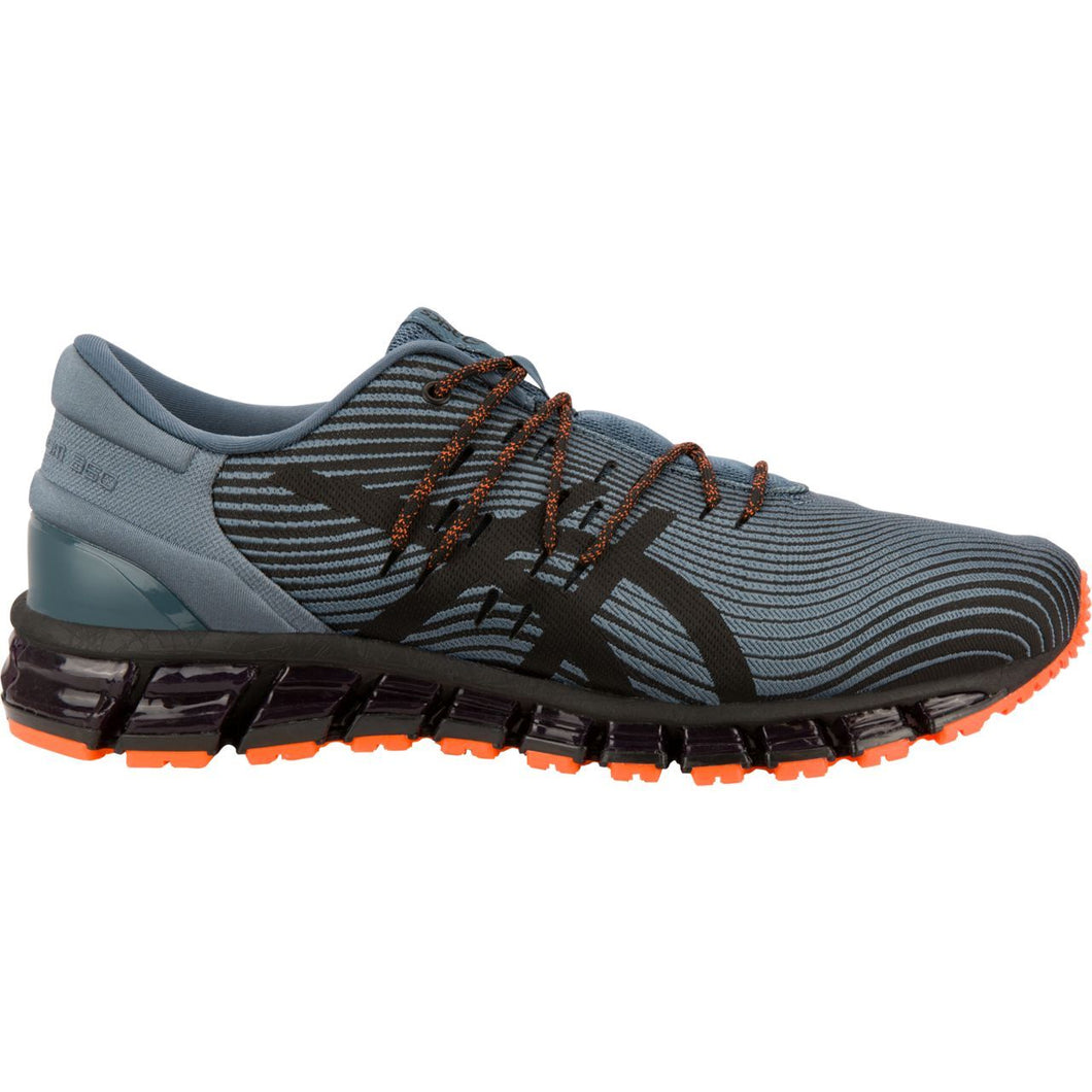 Men's Asics Gel-Quantum 360 4 RUNNING Shoe in Iron Clad/Black