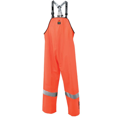Helly Hansen Men's Alberta Stretch Bib Pant in Hv Orange from the front