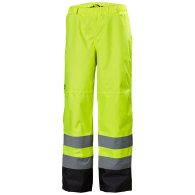 Helly Hansen Men's Alta Shell Pant in Yellow from the front