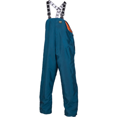Helly Hansen Men's Armour Bib Pant in Cobalt from the front