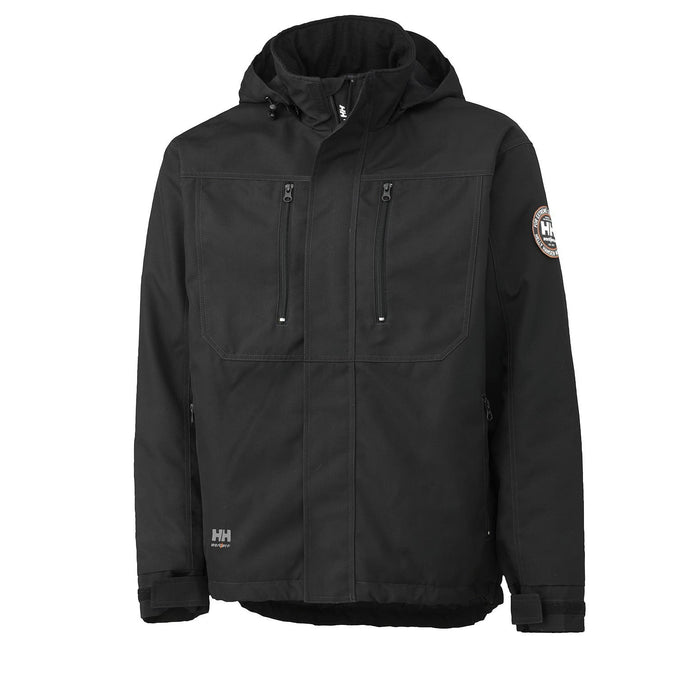 Helly Hansen Men's Berg Jacket in Black from the front