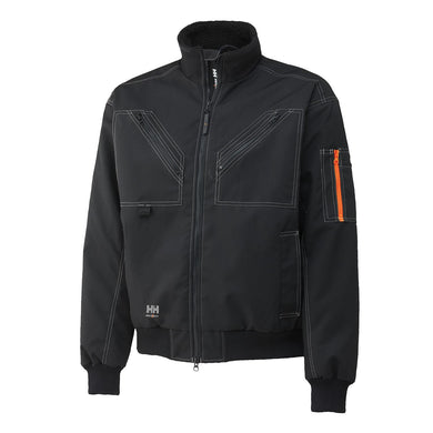 Helly Hansen Men's Bergholm Jacket in Black from the front