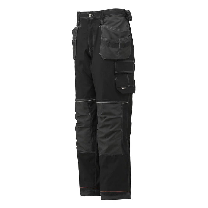 Helly Hansen Men's Chelsea Construction Na Pant in Black /Charcoal from the front