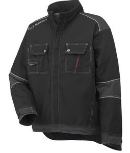 Helly Hansen Men's Chelsea Insulated Jacket in Black/Charcoal from the front