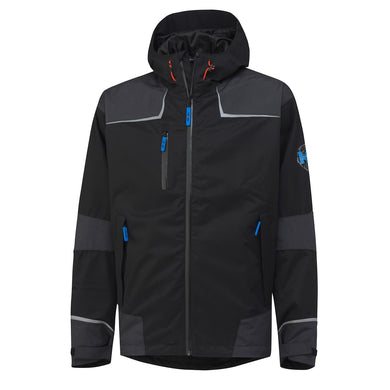 Helly Hansen Men's Chelsea Shell Jacket in Black from the front