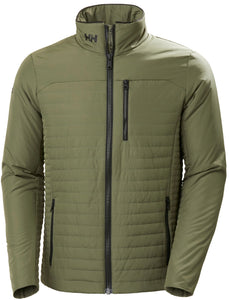Helly Hansen Men's Crew Insulator Jacket in Lav Green from the front