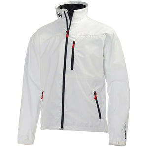 Helly Hansen Men's Crew Midlayer Jacket in Bright White from the front