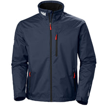 Load image into Gallery viewer, Helly Hansen Men's Crew Midlayer Jacket in Navy from the front