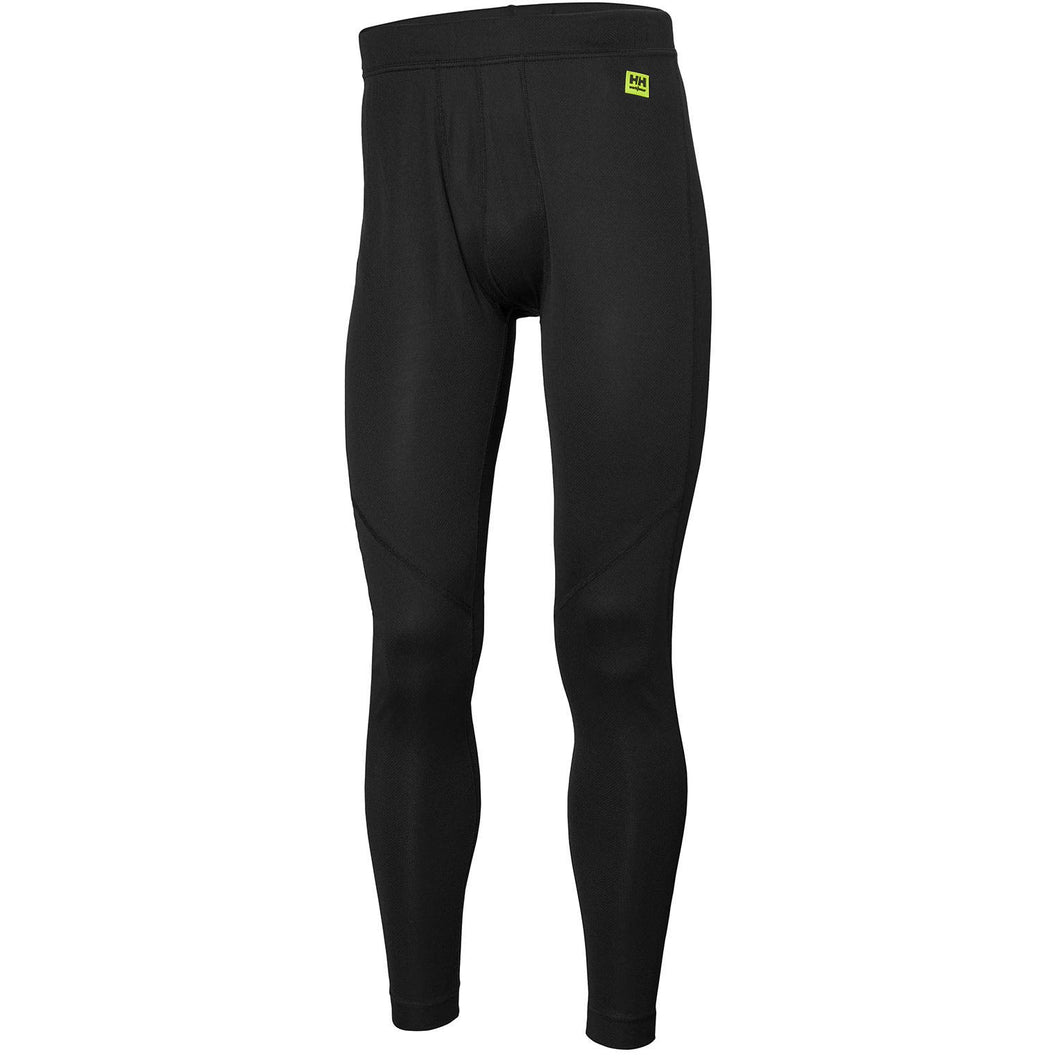 Helly Hansen Men's HH Lifa Pant in Black from the front