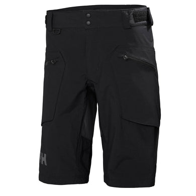 Helly Hansen Men's HP Foil HT Sailing Short in Black from the front