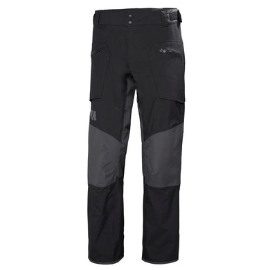 Helly Hansen Men's HP Foil Sailing Pant in Black from the front