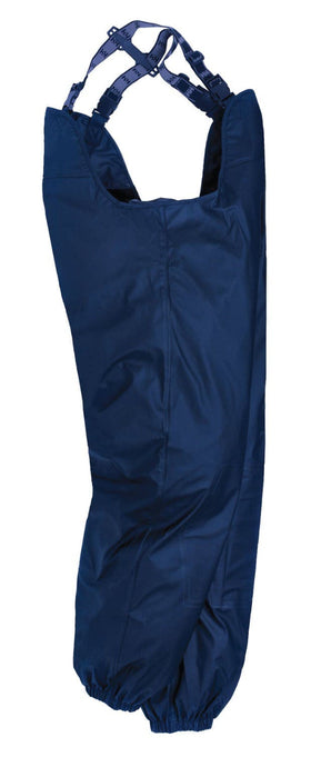 Helly Hansen Men's Impertech Sanitation Bib in Navy from the side