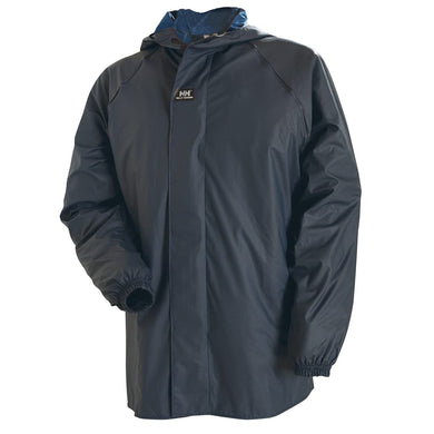 Helly Hansen Men's Impertech Sanitation Jacket in Navy from the front