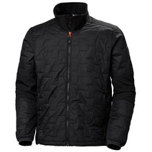 Load image into Gallery viewer, Helly Hansen Men's Kensington Lifaloft Jacket in Black from the front