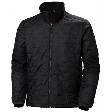 Helly Hansen Men's Kensington Lifaloft Jacket in Black from the front