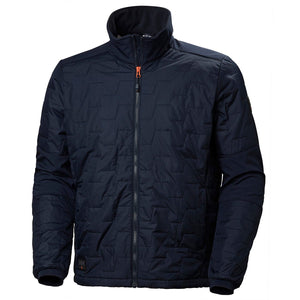 Helly Hansen Men's Kensington Lifaloft Jacket in Navy from the front