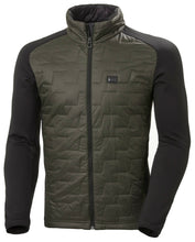 Load image into Gallery viewer, Helly Hansen Men's Lifaloft Hybrid Insulator Jacket in Beluga from the front