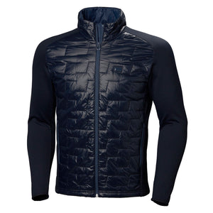 Helly Hansen Men's Lifaloft Hybrid Insulator Jacket in Navy from the front