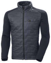 Load image into Gallery viewer, Helly Hansen Men's Lifaloft Hybrid Insulator Jacket in Navy from the front