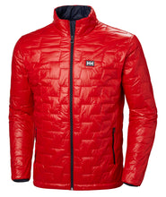 Load image into Gallery viewer, Helly Hansen Men's Lifaloft Insulator Jacket in Alert Red from the front