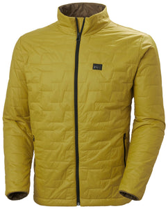 Helly Hansen Men's Lifaloft Insulator Jacket in Antique Moss from the front